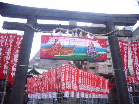 千束稲荷の地口行灯2011 その1