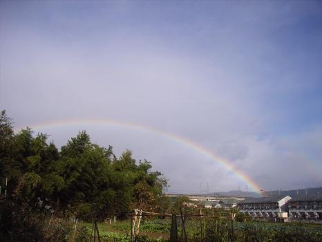 七十二候は「虹始見」に。とすると通り雨多くなる?/旧3/16・丙辰