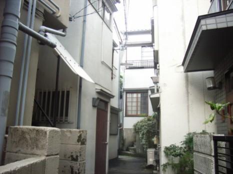 千駄木路地2008