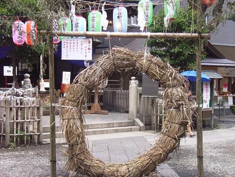 20100621小野照崎神社茅の輪