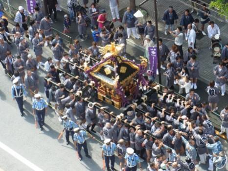 天祖神社の大神輿