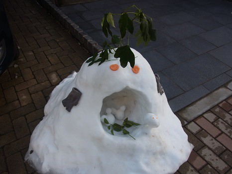 雪だるま?2014