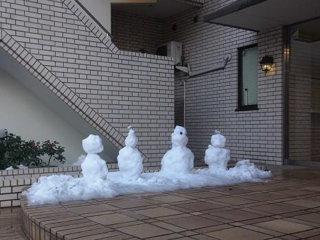 雪だるまカルテット2014