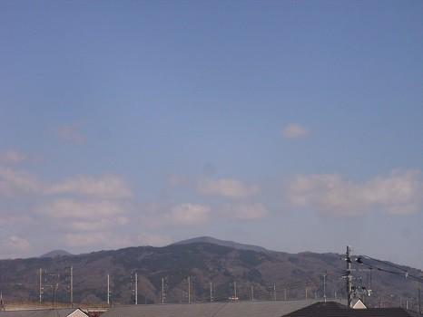福島4月中旬の山