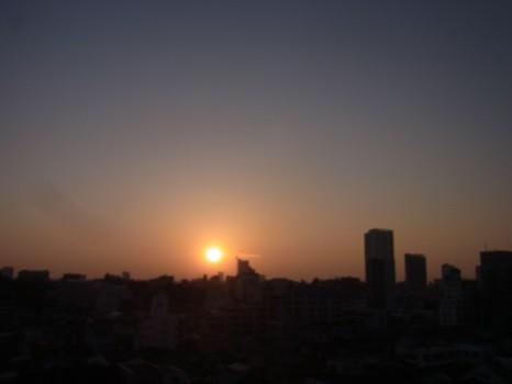 4月22日頃の日の出