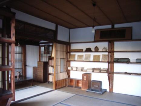 牧野博士の書斎