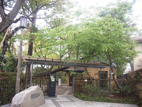 牧野記念館入口