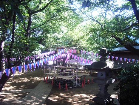 諏訪神社 盆踊り