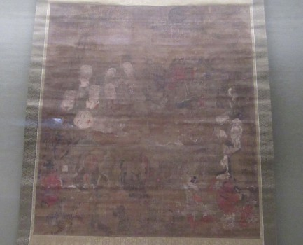 奈良・薬師寺の涅槃図