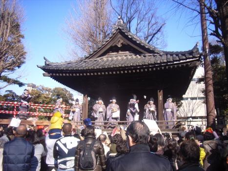 根津神社の節分祭