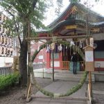 今日は、「茅の輪」くぐって、「富士塚」登って、「麦藁蛇」をいただく。あっ!植木市も!in浅草浅間神社/旧暦・閏5/2・癸未