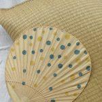 夏惜しみ…といえば、今年は出番がなかった「団扇」と「畳枕」…いまごろ出して使う(;´д`)。/旧暦6/30・庚辰