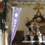 我がご近所でも秋祭りが始まって、トリはいつものように根津神社。…が、台風来襲?どうぞ避けてってください!!/旧暦7/26・丙午