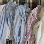 「シャツの日」は衣更えから一週間目ってのがちょうどいい。今日は、淡々と長袖シャツにアイロンがけして過ごします。/旧暦8/18・丁卯