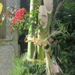 東京はあっという間に「松納め」!松飾りなどの正月飾りは今日が見納め、さあっ!急げっ!!/旧暦11/20・戊戌