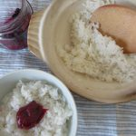そのルーツは「紀元節」にして、今日は祝日「建国の記念日」。で、私は銀シャリを炊き「日の丸一膳」!/旧暦12/26・甲戌