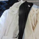1877(明治10)年10月、国産のシャツが製造された…を由来に、今日は「シャツの日」。私はせっせと長袖シャツにアイロンを。/旧暦8/28・壬申