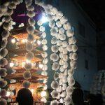 今日から、雑司ヶ谷鬼子母神の「御会式」です。街に「万灯」が練り歩く幻想的な秋の夜長。/旧暦9/8・辛巳