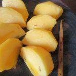 持って帰った母の庭の柿。せっせと食べて、完食っ!!美味かった、ありがとう柿。/旧暦10/4・丁未