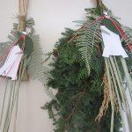あっという間に、今年もあと4日。そして今日はお正月飾りのラストチャンスですっ!まずは玄関の飾りつけを(*'▽')/旧暦12/3・己亥