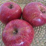 福島から林檎が到着🍎。さあさ、今日からしばし、フルーツに事欠かない日々到来ですっ(*'▽')/旧暦11/14・辛巳