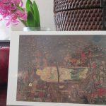 今日は「涅槃会」。寺社では「涅槃図」飾って、釈迦の入滅偲ぶ一日。私も部屋に涅槃図⇒トーハクへ涅槃図を見に(*'▽')/旧暦1/22・戊子
