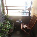 猫の額より狭いベランダ片付け、カフェ&読書コーナーを。花眺めつつ、空眺めつつ読書、時々うたた寝😪/旧暦4/22・丁巳