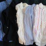 今日は「シャツの日」だっ!と気が付いて、毎年恒例のシャツのアイロンかけを(*'▽')。シャキッとしわを伸ばしたら、シャツ着て出かけたくなりました!/旧暦8/21・癸未