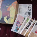 今日は、杉浦日向子さんの誕生日。もちろん書棚から一冊。今年も彼女が綴った江戸噺に浸って、誕生祝です(*'▽')。/旧暦10/16・丁丑