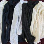今日はシャツの日。そうか(*'▽')と、朝からせっせとシャツのアイロンかけ。シャキッとした秋のシャツ着て、外出する気満々になる不思議。/旧暦9/2・戊子